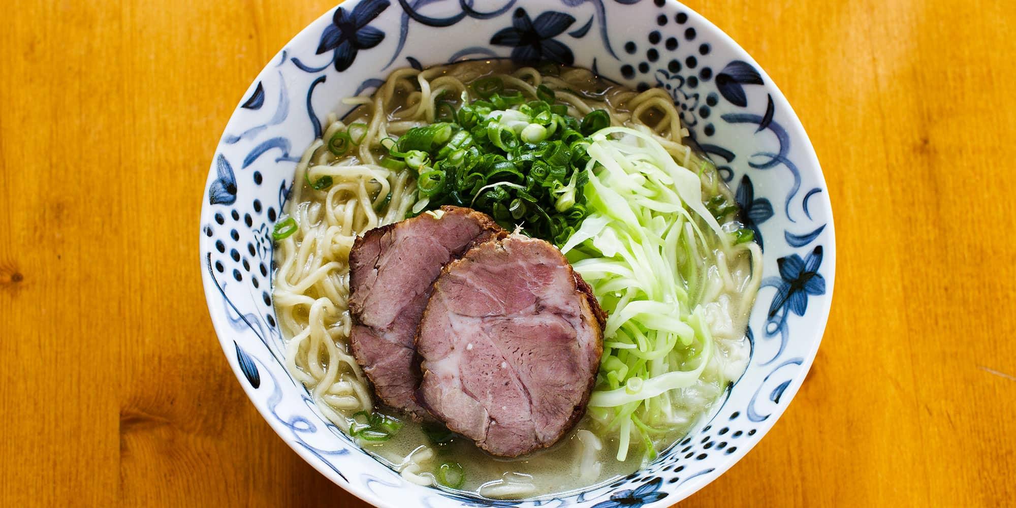 Wasabi Ramen Dinner Menu .. pork chashu ramen