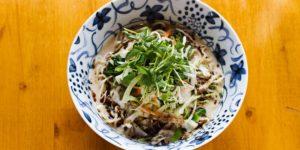 Wasabi Ramen Lunch Vegetarian bowl
