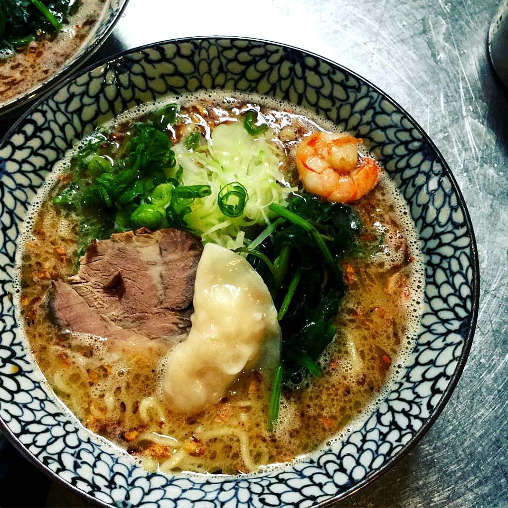 AB Ramen served at Wasabi Ramen - Japanese restaurant in Kelowna