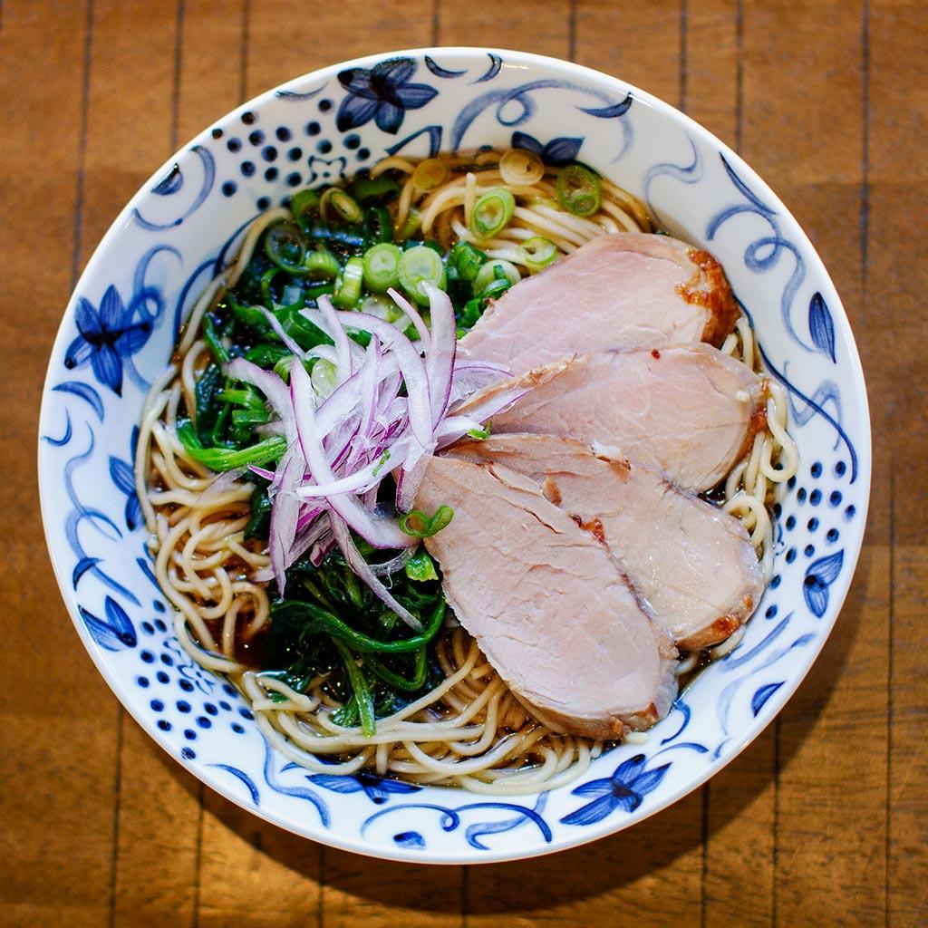 Original Ramen served at Wasabi Ramen and Izakaya in downtown Kelowna