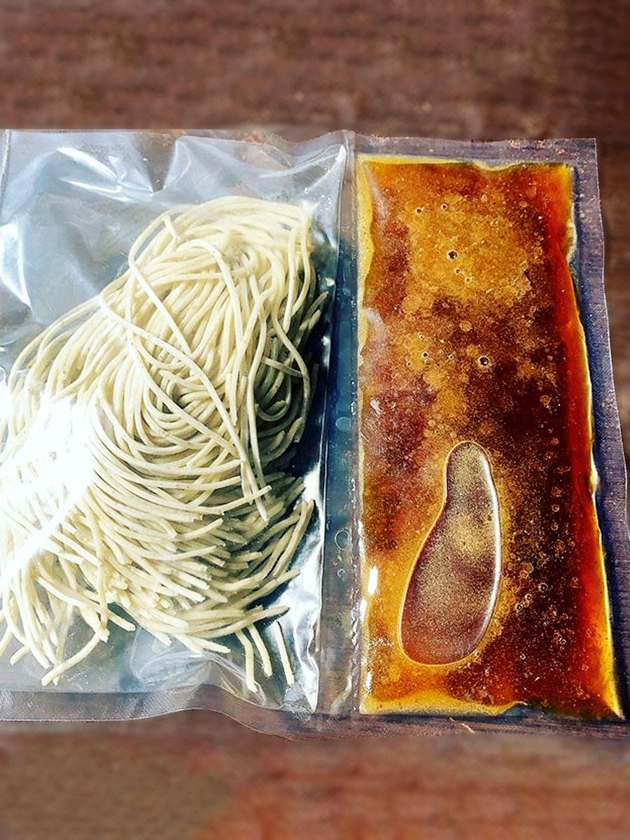 Ramen Slurp Kit package by Wasabi Ramen in kelowna