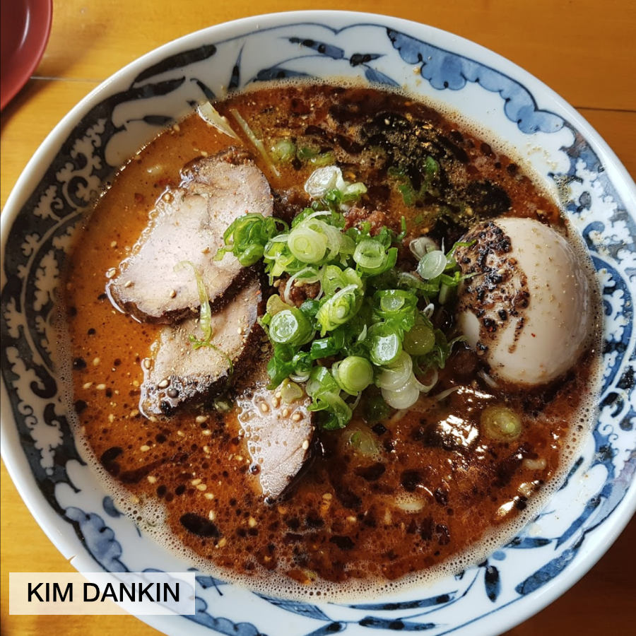Bowl of ramen photo by fan kim Dankin at Wasabi Ramen in Kelowna