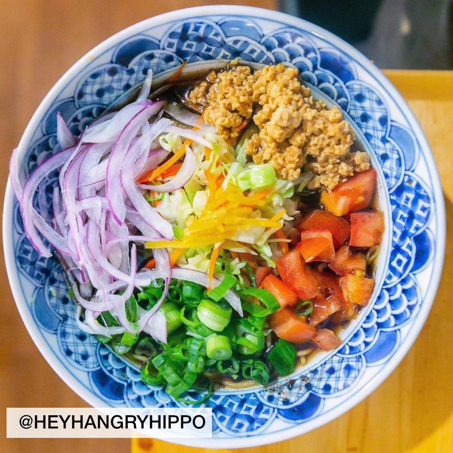 bowl of ramen photo by heyhangryhippo, taken at Wasabi Ramen in Kelowna