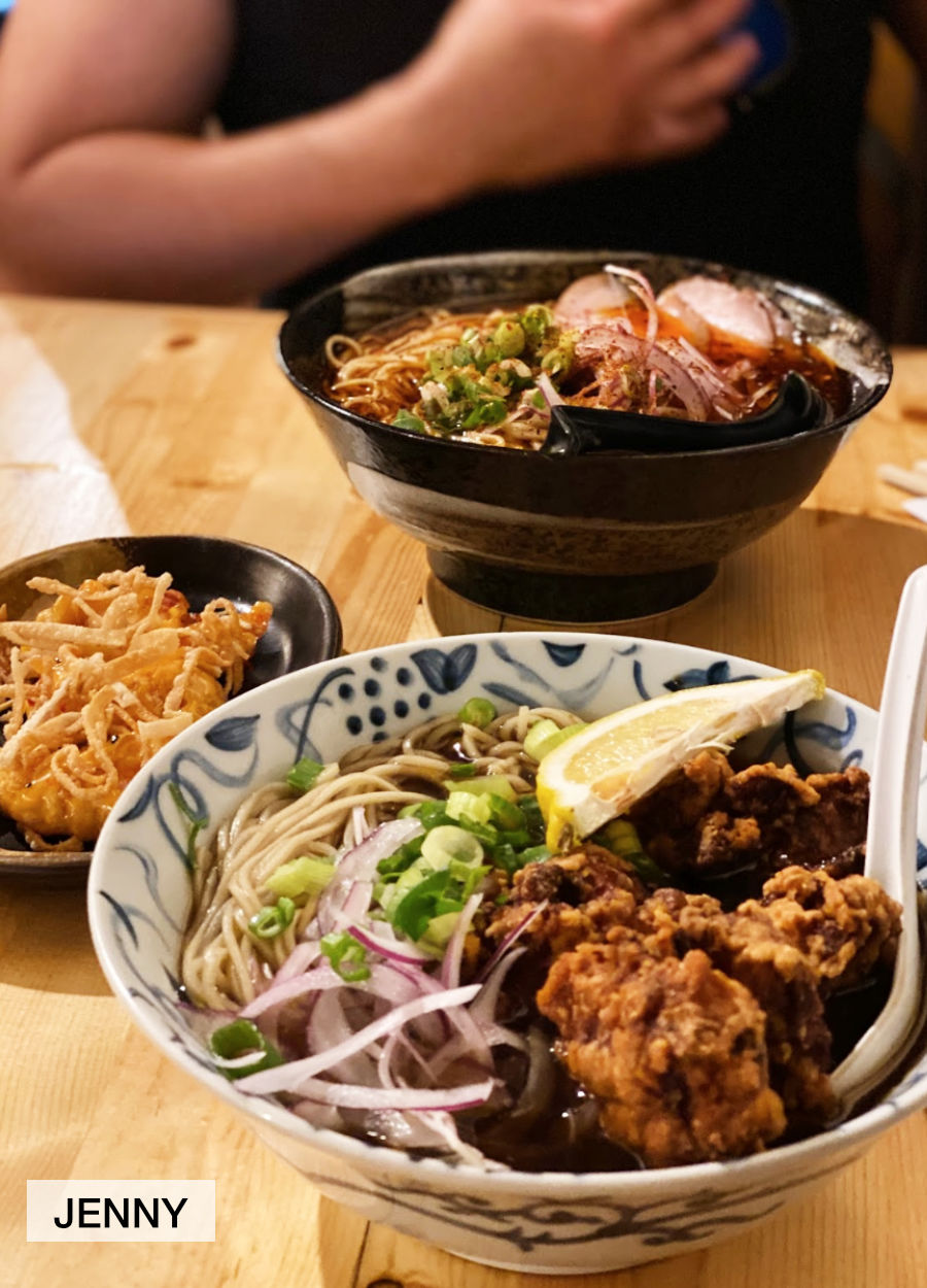Jenny's photo of ramen meal at Wasabi Ramen in Kelowna