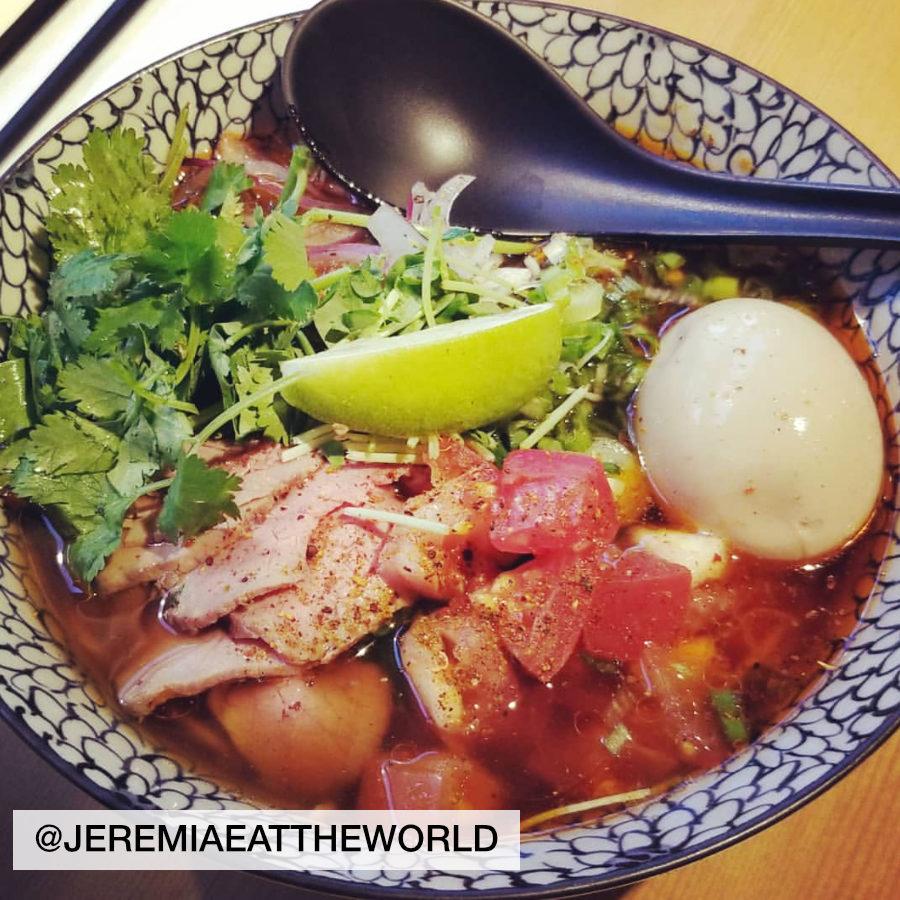 bowl of ramen photo by jeremiaeattheworld, taken at Wasabi Ramen in Kelowna
