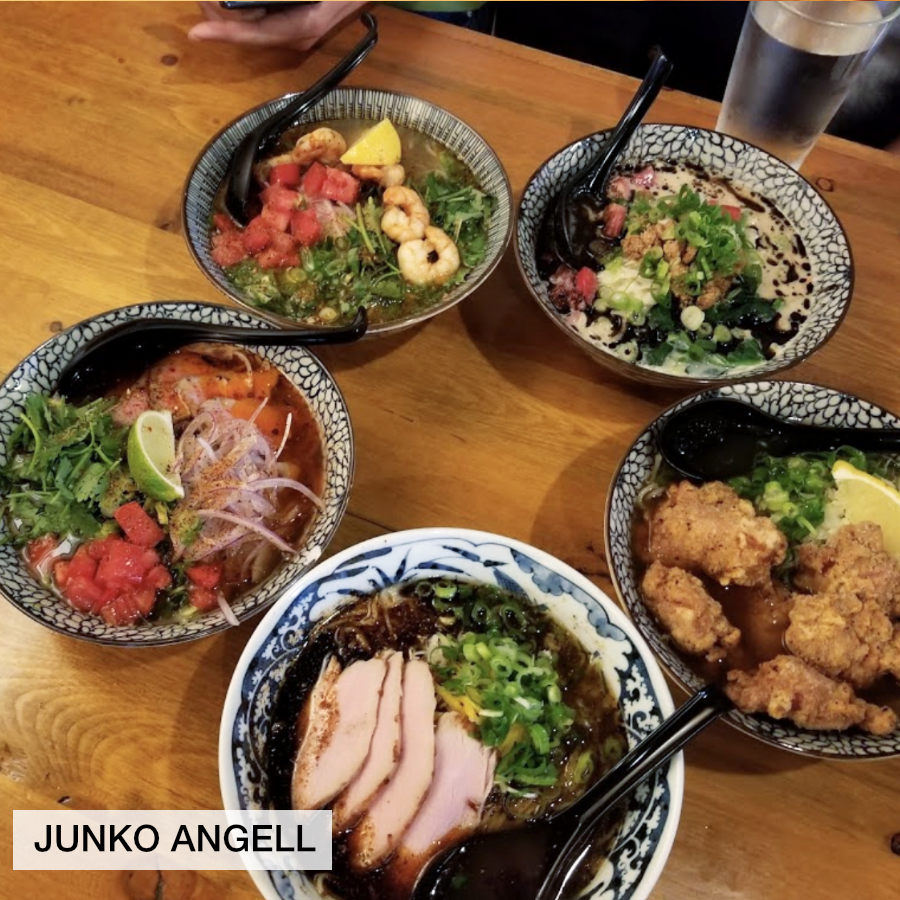 Ramen dinner at Wasabi Ramen and Izakaya in Kelowna