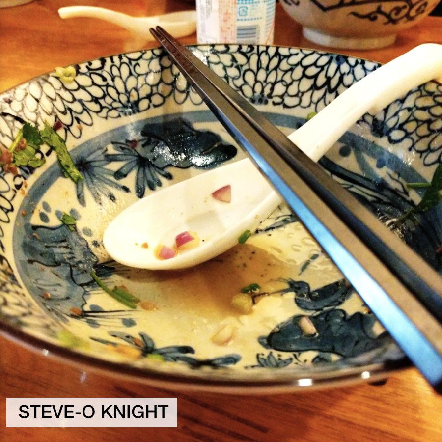 bowl of ramen photo by Steve-o Knight, taken at Wasabi Ramen in Kelowna